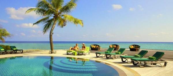 Maldyvai Kuredu sala viesbutis