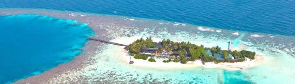 Maldyvai Kudahithi sala viesbutis