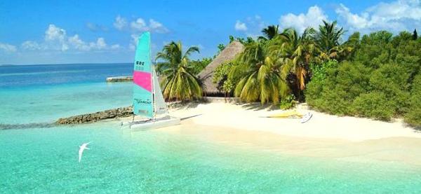 Maldyvai Makunudu sala viesbutis